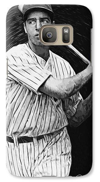 Joe Dimaggio Galaxy S7 Case by Taylan Soyturk