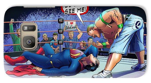 John Cena Vs Superman Galaxy Case by Khaled Alsabouni