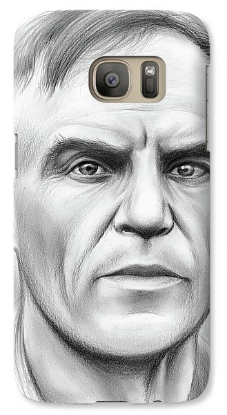John Heisman Galaxy S7 Case by Greg Joens
