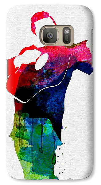 Johnny Watercolor Galaxy Case by Naxart Studio