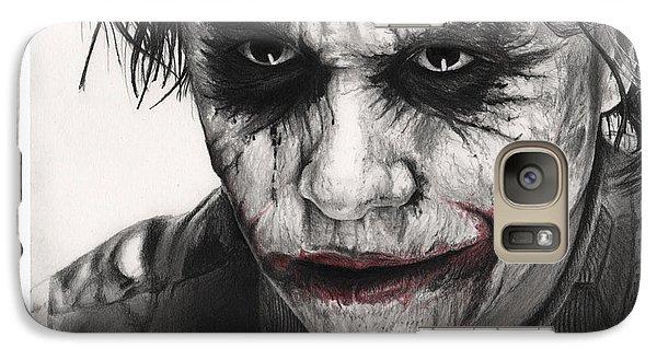 Joker Face Galaxy S7 Case by James Holko
