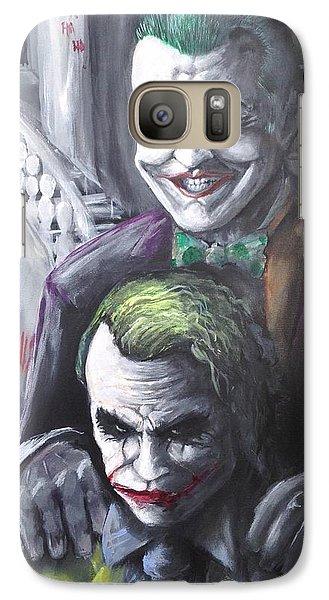 Jokery In Wayne Manor Galaxy S7 Case by Tyler Haddox