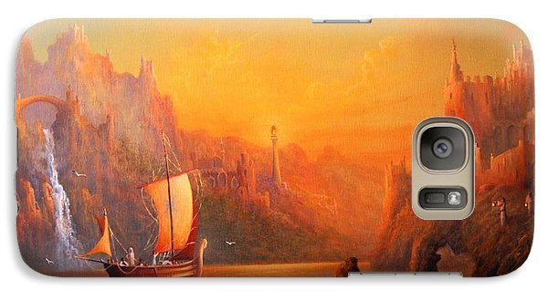 Journey To The Undying Lands Galaxy S7 Case by Joe  Gilronan