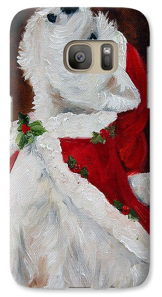 Joy To The World Galaxy S7 Case by Mary Sparrow