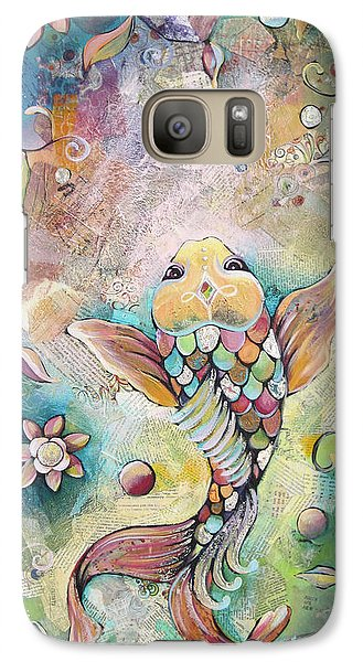 Joyful Koi II Galaxy S7 Case by Shadia Derbyshire