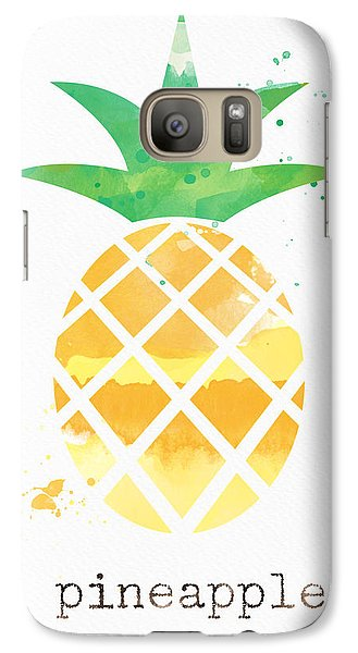 Juicy Pineapple Galaxy S7 Case by Linda Woods
