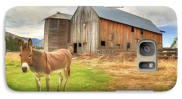 Just Another Day On The Farm Galaxy S7 Case by Donna Kennedy