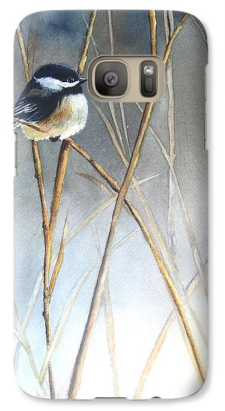 Just Thinking Galaxy Case by Patricia Pushaw
