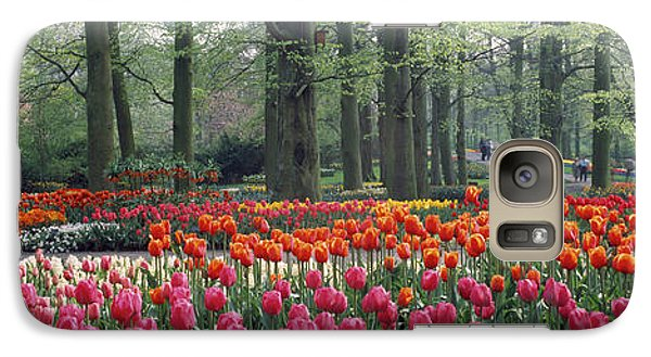 Keukenhof Garden, Lisse, The Netherlands Galaxy Case by Panoramic Images