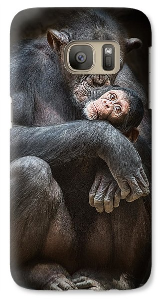 Kiss From Mom Galaxy Case by Jamie Pham