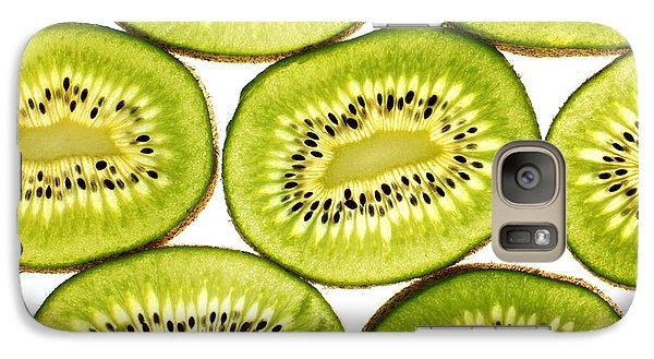 Kiwi Fruit II Galaxy Case by Paul Ge