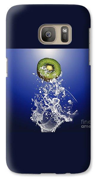 Kiwi Splash Galaxy Case by Marvin Blaine