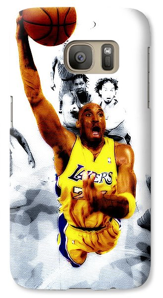 Kobe Bryant Took Flight Galaxy Case by Brian Reaves