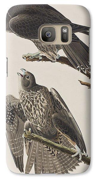 Labrador Falcon Galaxy S7 Case by John James Audubon