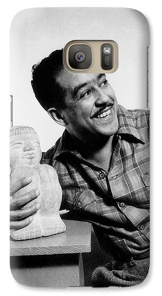 Langston Hughes (1902-1967) Galaxy S7 Case by Granger