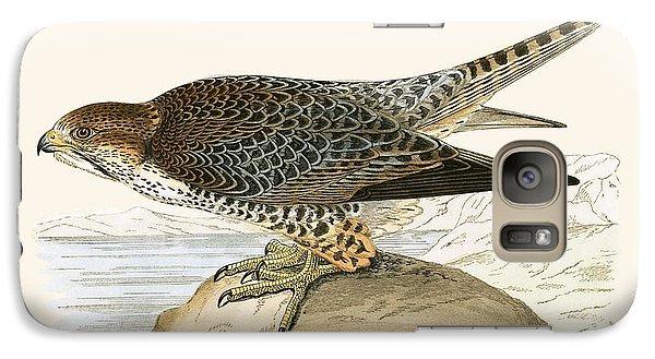 Lanner Falcon Galaxy Case by English School