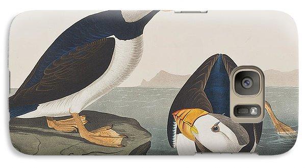 Large Billed Puffin Galaxy Case by John James Audubon