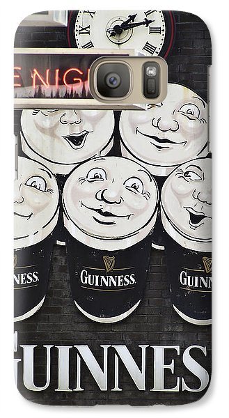 Late Night Guinness Limerick Ireland Galaxy Case by Teresa Mucha