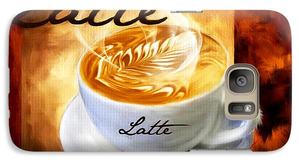 Latte Galaxy Case by Lourry Legarde