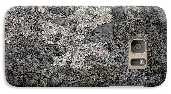Galaxy Case featuring the photograph Lava Flow by M G Whittingham