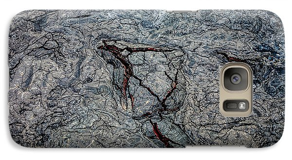 Galaxy Case featuring the photograph Lava by M G Whittingham