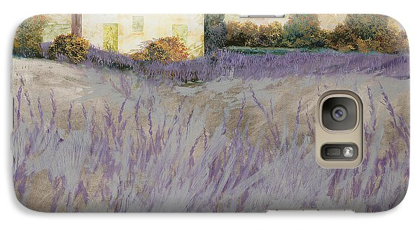 Lavender Galaxy Case by Guido Borelli