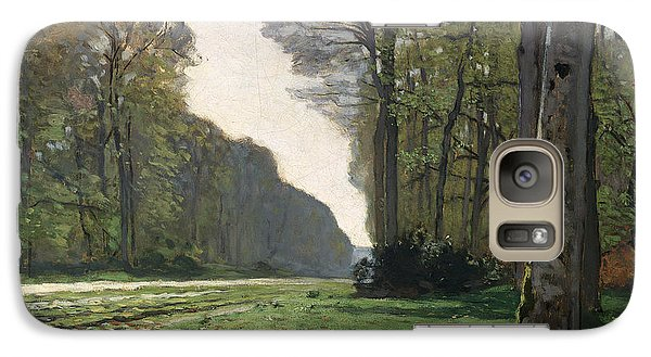Le Pave De Chailly Galaxy Case by Claude Monet