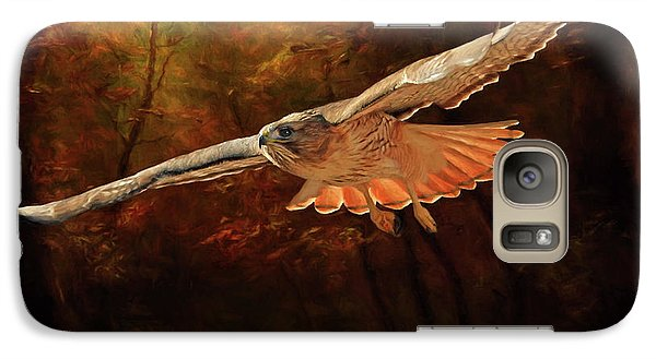 Leaving The Enchanting Forest Galaxy S7 Case by Donna Kennedy