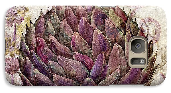 Legumes Francais Artichoke Galaxy S7 Case by Mindy Sommers