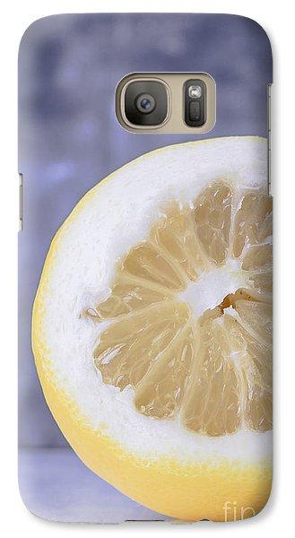 Lemon Half Galaxy Case by Edward Fielding