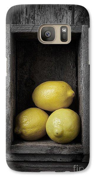 Lemons Still Life Galaxy Case by Edward Fielding