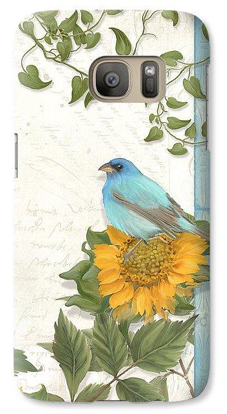 Les Magnifiques Fleurs Iv - Secret Garden Galaxy S7 Case by Audrey Jeanne Roberts