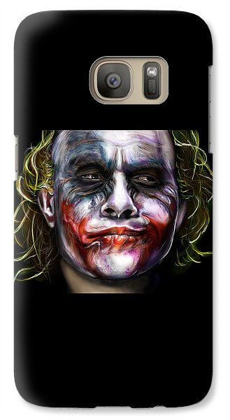 Let's Put A Smile On That Face Galaxy Case by Vinny John Usuriello
