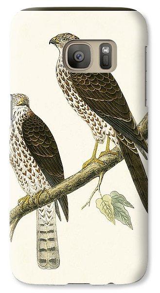 Levant Sparrow Hawk Galaxy S7 Case by English School