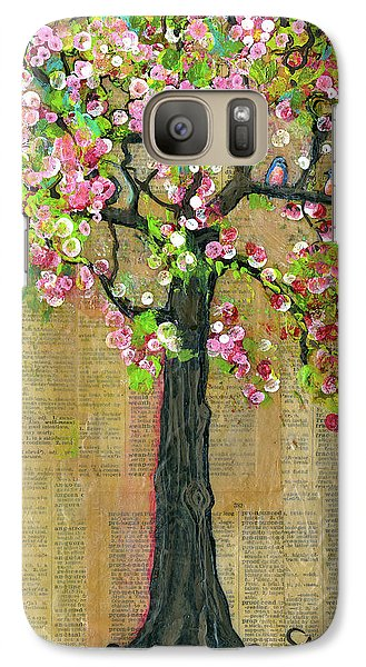 Lexicon Tree Of Life 4 Galaxy Case by Blenda Studio