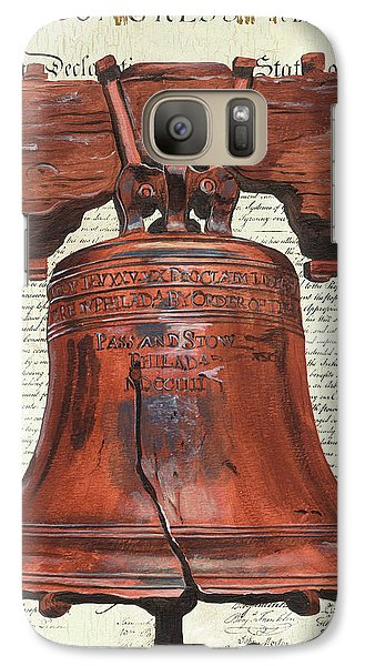 Life And Liberty Galaxy Case by Debbie DeWitt