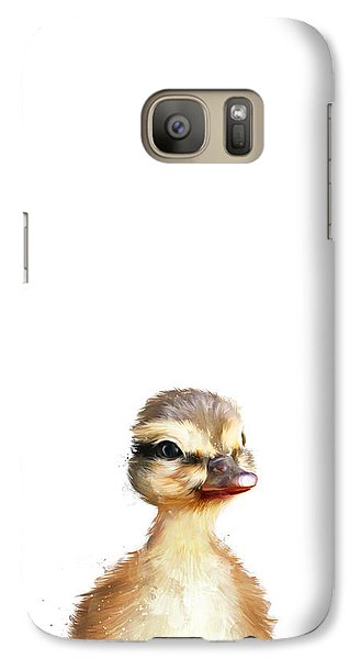 Little Duck Galaxy Case by Amy Hamilton