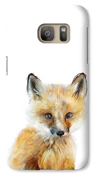 Little Fox Galaxy S7 Case by Amy Hamilton