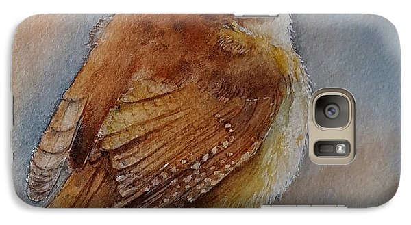 Little Friend Galaxy Case by Patricia Pushaw