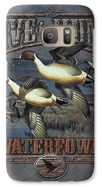 Live To Hunt Pintails Galaxy S7 Case by JQ Licensing