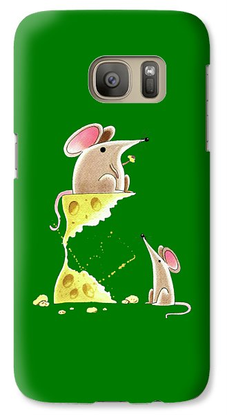 Living Dangerously  Galaxy Case by Andrew Hitchen