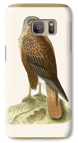 Long Legged Buzzard Galaxy S7 Case by English School