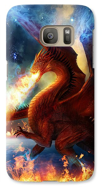 Lord Of The Celestial Dragons Galaxy Case by Philip Straub