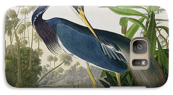 Louisiana Heron Galaxy S7 Case by John James Audubon