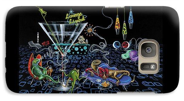 Lounge Lizard Galaxy Case by Michael Godard
