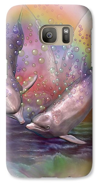 Love Bubbles Galaxy S7 Case by Carol Cavalaris