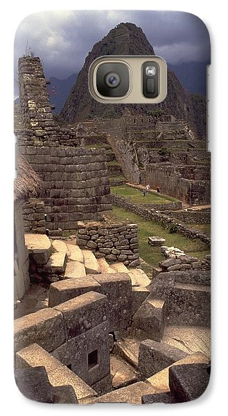 Galaxy S7 Case featuring the photograph Machu Picchu by Travel Pics