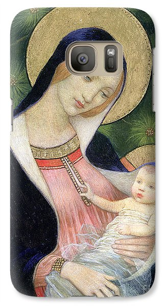 Madonna Of The Fir Tree Galaxy S7 Case by Marianne Stokes