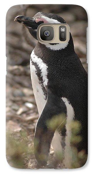 Magellanic Penguin No. 1 Galaxy S7 Case by Sandy Taylor