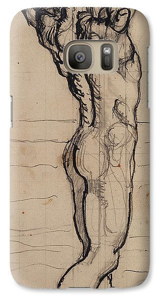 Male Act   Study For The Truth Galaxy S7 Case by Ferdninand Hodler